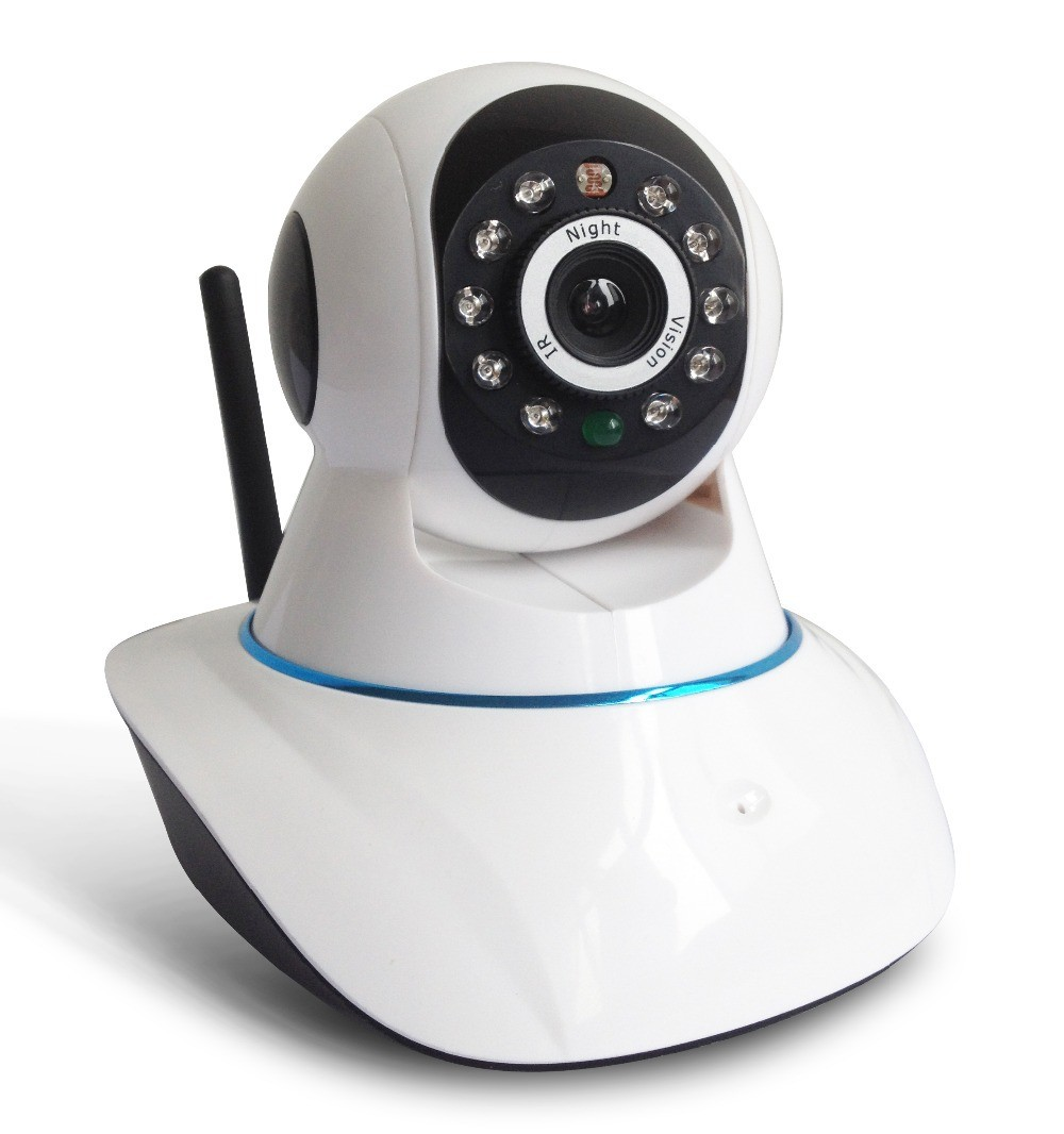 Camera IP Wireless P2P 1.0 Wi-Fi 720p HD
