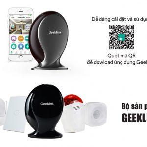 Trung tâm điều khiển nhà thông minh Geeklink Thinker