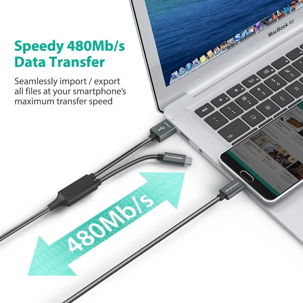 Truyền dữ liệu 480Mb / s nhanh chóng