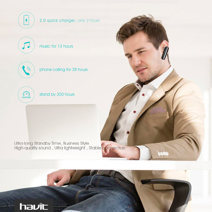 Bluetooth 4.1 Havit L11 thiết kế sang trọng