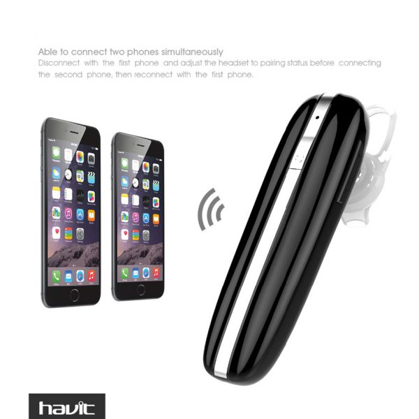 Tai nghe Bluetooth 4.1 Havit L11 khử tiếng ồn 200mAh