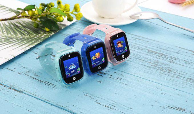 Đồng hồ định vị trẻ em Wonlex KT01 có thiết kế độc đáo