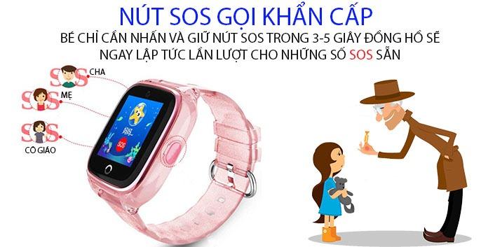 Đồng hồ định vị Wonlex KT01
