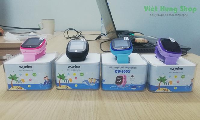 Đồng hồ thông minh cho trẻ em Wonlex GW400X