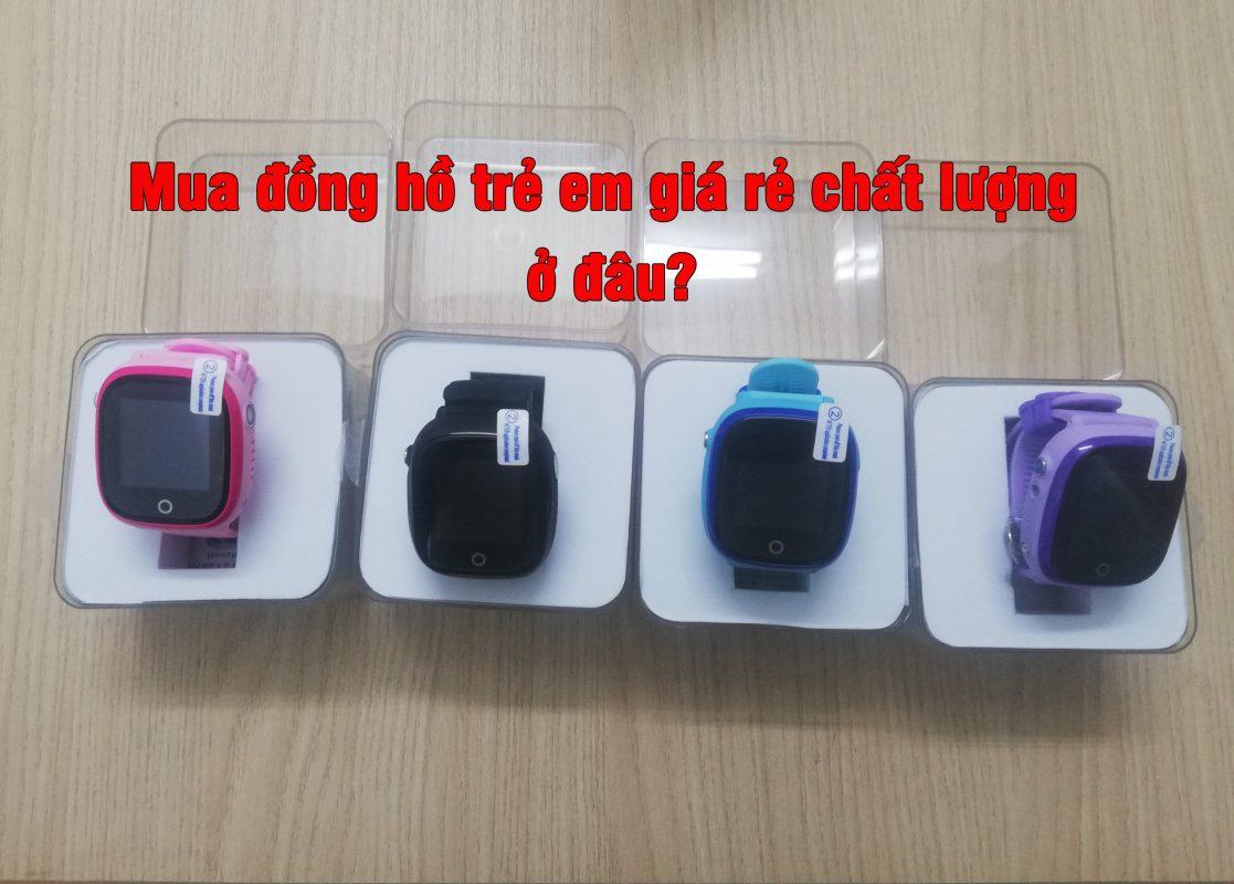 Đồng hồ trẻ em giá rẻ