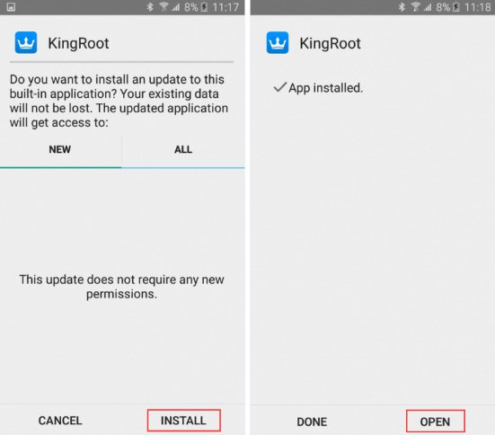 Cách root android bằng kingroot