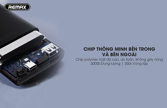 Chip thông minh của Remax RPP-137