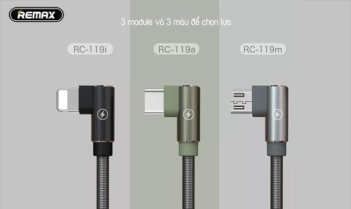 Lighting Remax RC-119i có 3 modul và 3 màu lựa chọn