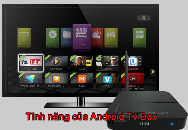 Tính năng của android tv box