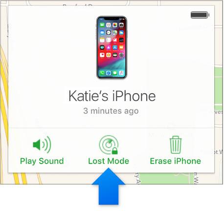 3 chế độ báo mất iPhone