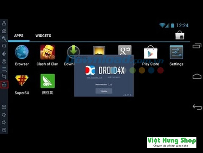 giả lập android droid4x