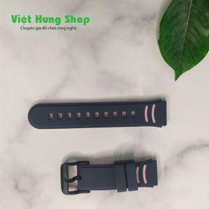 dây đồng hồ định vị trẻ em Wonlex màu đen - hồng
