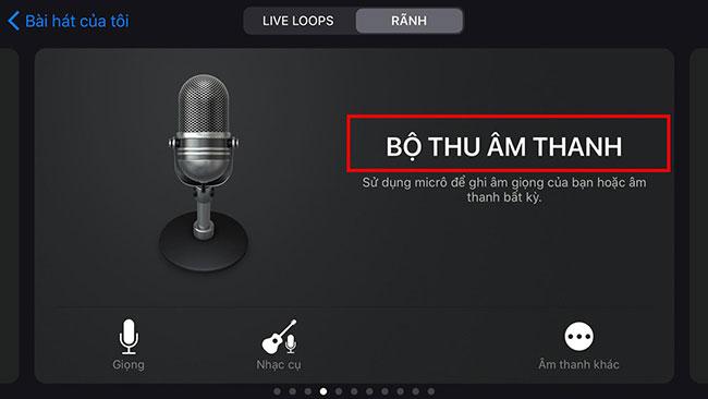Use GarageBand để tạo đoạn nhạc chuông Iphone